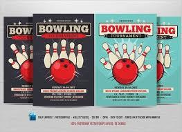 Template Bowling Fundraiser Flyer Epp Acp Info