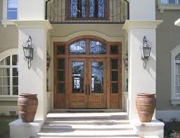 french country front doorOur French Inspired Home Exterior French Doors Which would you