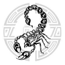 Znamení Zvěrokruhu Rakovina Tetování Design Fototapeta
