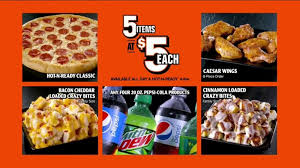 Little Caesars Pizza 5 For 5 Tv Commercial Your Pick Ispot Tv