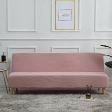solid color sofa bed cover detachable