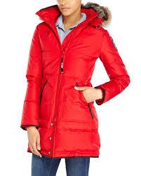 pajar down parka cougar red pajar winter coat cougar red