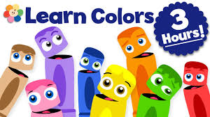 kids color pictures. Brilliant Color Learn Colors For Kids  Color Learning Videos 3 Hour Crew  Compilation BabyFirst On Pictures H