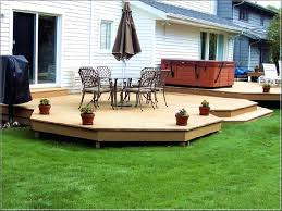 wood deck cost. Cost Of Building A Deck Wood Per Square Foot How Much Does