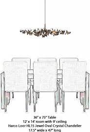 chandelier size for dining room chandelier size for dining room home design
