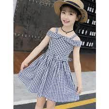 váy trẻ em caro thời trang cho bé gái Ankids d21 - Thương hiệu OEM