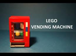 Lego Vending Machine Cool Tutorial LEGO Vending Machine YouTube