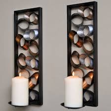 Elegant Decorative Candle Wall Sconce For Living Room