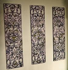 image for wrought iron decorative wall panels
