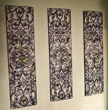 wrought iron decorative wall panels diy wrought iron artwork from rubber door mat craft ideas best