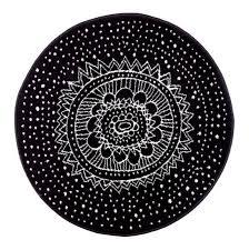 ikea rugs black and white