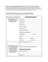 Printable Identification Card Free Printable Child Id Card By Dreamcatchers For Abused Children