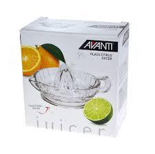 new avanti glass citrus juicer retro squeezer manual hand fruit orange lemon