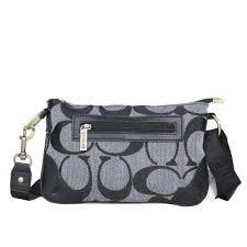 Bag ·  ShopDesigner Follow Coach Swingpack Monogram Small Grey ...