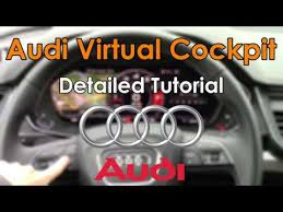 <b>Audi</b> Virtual Cockpit 2018 Detailed Tutorial and Review: Tech Help ...