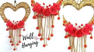 heart wall decoration new heart wall hanging craft ideas easy wall decoration paper heart wall decoration heart wall decoration