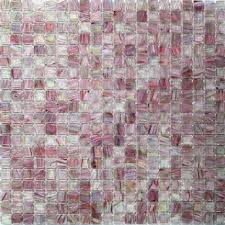 splashback tile breeze plum stained glass mosaic wall tile 3 in x 6 in