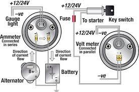 vdo amp gauge wiring diagram vdo diy wiring diagrams description vdo ammeter shunt wiring diagram nodasystech com