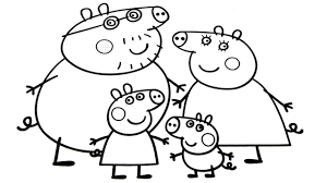 Peppa Pig Family Coloring Book Coloring Pages Video For Kids Family Coloring Book L