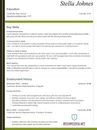 resume examples for teens  hot tips to win  •student resume sample college resume example