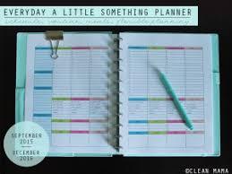 Free 2016 At A Glance Calendars Clean Mama