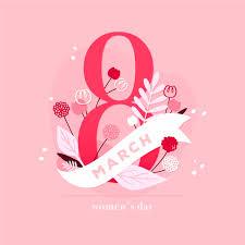 Postales celebrar el día internacional de la mujer, 8 de marzo de cada año. Dia Internacional De La Mujer Floral Vector Gratis