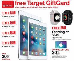 target black friday 2016 apple ipad ipads iwatch