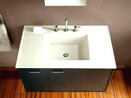 Breathtaking Bathroom Vanity With Bowl Sink Bowls On Top Of    T88