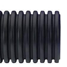 6 inch x 100 foot roll flexdrain corrugated pipe with poly filter sock