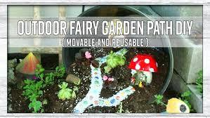 outdoor fairy garden outdoor fairy garden path movable and reusable outdoor fairy garden supplies