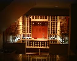 wine cellar lighting. Anil Custom Wine Cellar Chicago With Lighting G