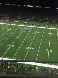 Mercedes Benz Superdome Section 509 Row 4 Seat 18