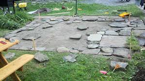 loose flagstone patio. Creative Of Flagstone Patio Diy Exterior Remodel Inspiration How To Build A In 3 Days Loose T