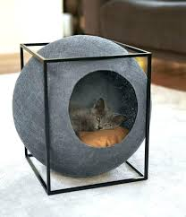 modern cat tree furniture. Stylish Cat Tree Modern Cocoons For Cats Feature In Debut Furniture Collection Products Design E