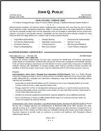 Senior Consultant Resume Nmdnconference Com Example Resume And
