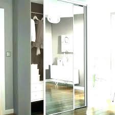 sliding mirror closet doors wardrobe door with mirrors canada s