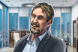 Mcafee Bitcoins Scarcity Will Trigger Its Price To Hit 1m