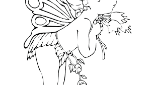 Free Fairy Coloring Pages Fairy Coloring Pages For Adults Printable