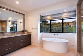 freestanding bath design ideas. 4 tags contemporary master bathroom with flat panel cabinets, double sink, frameless showerdoor, freestanding bathtub bath design ideas