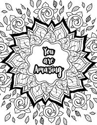 Coloringes Printable Quotes Disney Free For Kids Minecraft Adults To