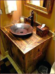 Bathroom Vanities Lights Inspiration Rustic Bathroom Chic And Gorgeous Styled Vanity Lights Wood