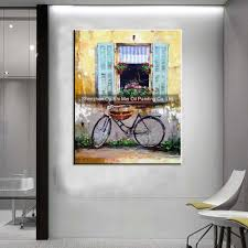Paintings For Living Room Decor Hand Painted Yellow Wall Landscapes For Living Room Decor Abstract