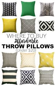 Places To Buy Decorative Pillows