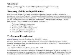 cover letter fascinating sample resume management resume summary summary sample resume
