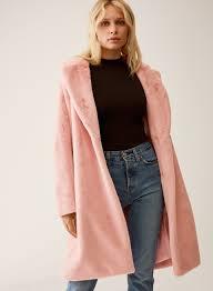 talula real faux fur coat aritzia