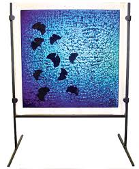 Art Glass Display Stands Fusing Glass Stained Glass Dichroic Decorative Architectural 95