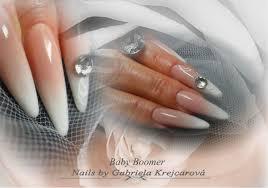 Baby Boomer Nail Design By Gabriela Nehty