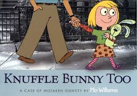 KNUFFLE BUNNY TOO by Mo Willems Read by Mo Willems Trixie Willems Cheryl  Willems Sophie OBrien | Audiobook Review | AudioFile Magazine