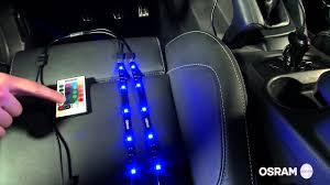 Osram Interior Lighting Osram Ledambient Tuning Lights Video Tutorial