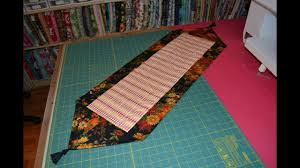 EPISODE 47 - Fast and Easy Quilted Table Runner - YouTube & EPISODE 47 - Fast and Easy Quilted Table Runner Adamdwight.com
